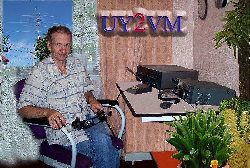 QSL image for UY2VM