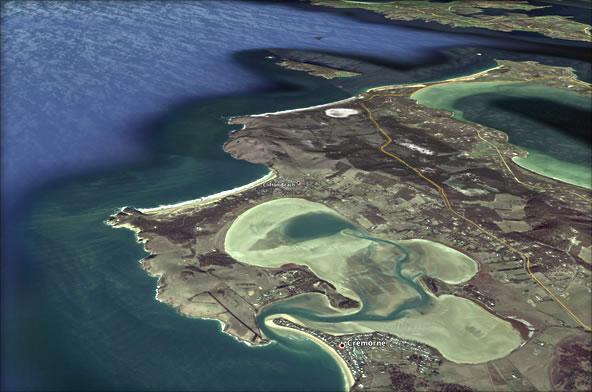 Pipeclay Lagoon, Sandford, TAS