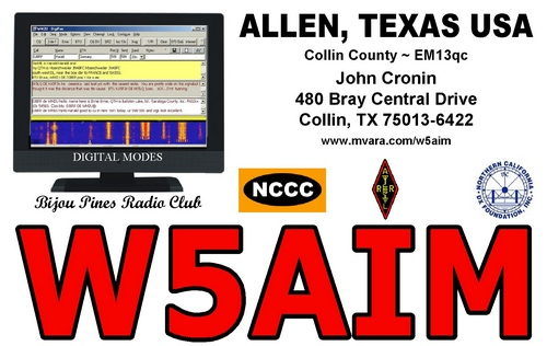QSL image for W5AIM