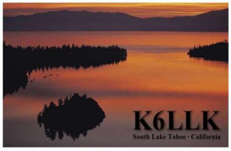 K6LLK QSL CARD