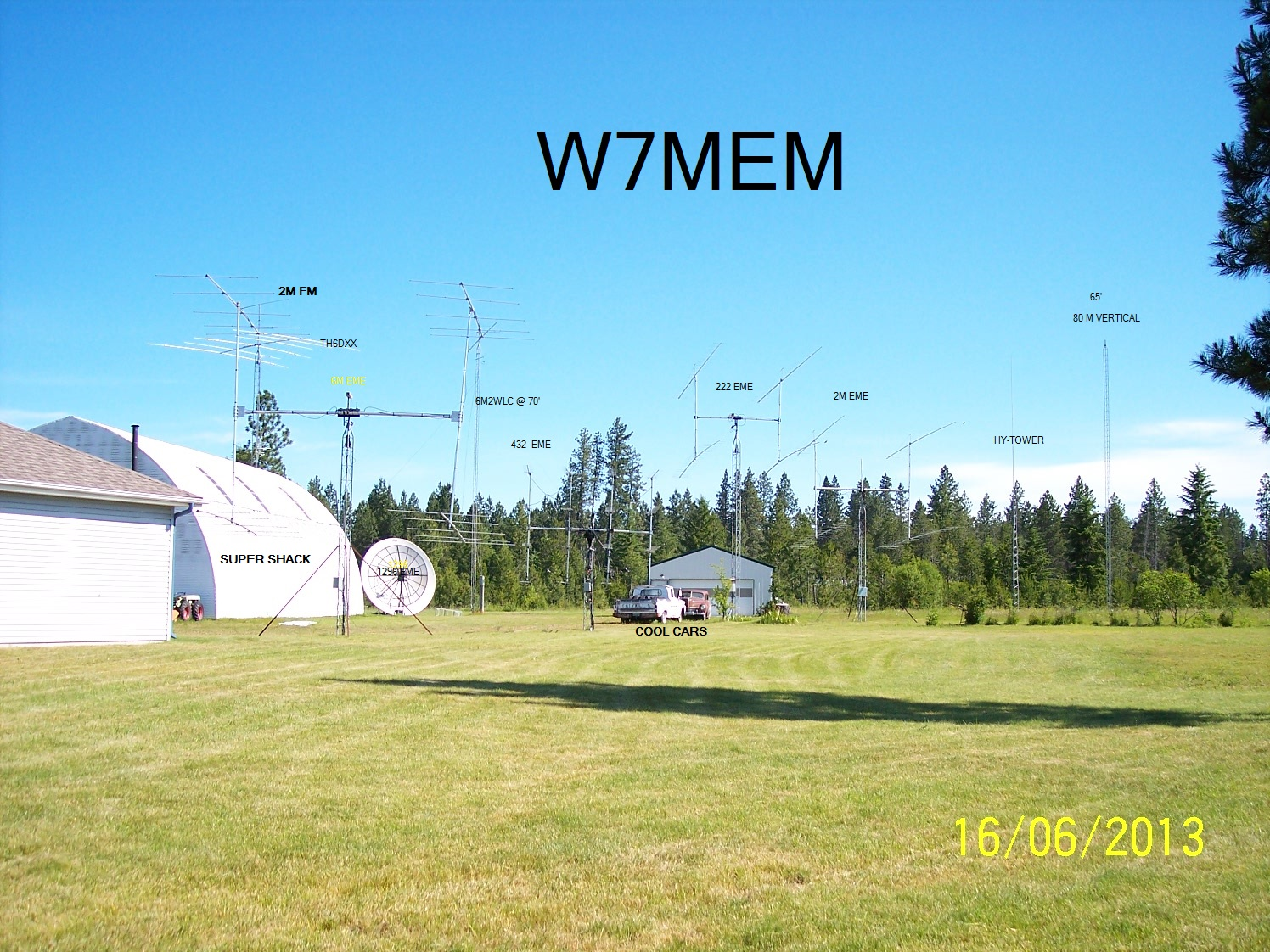 QSL image for W7MEM