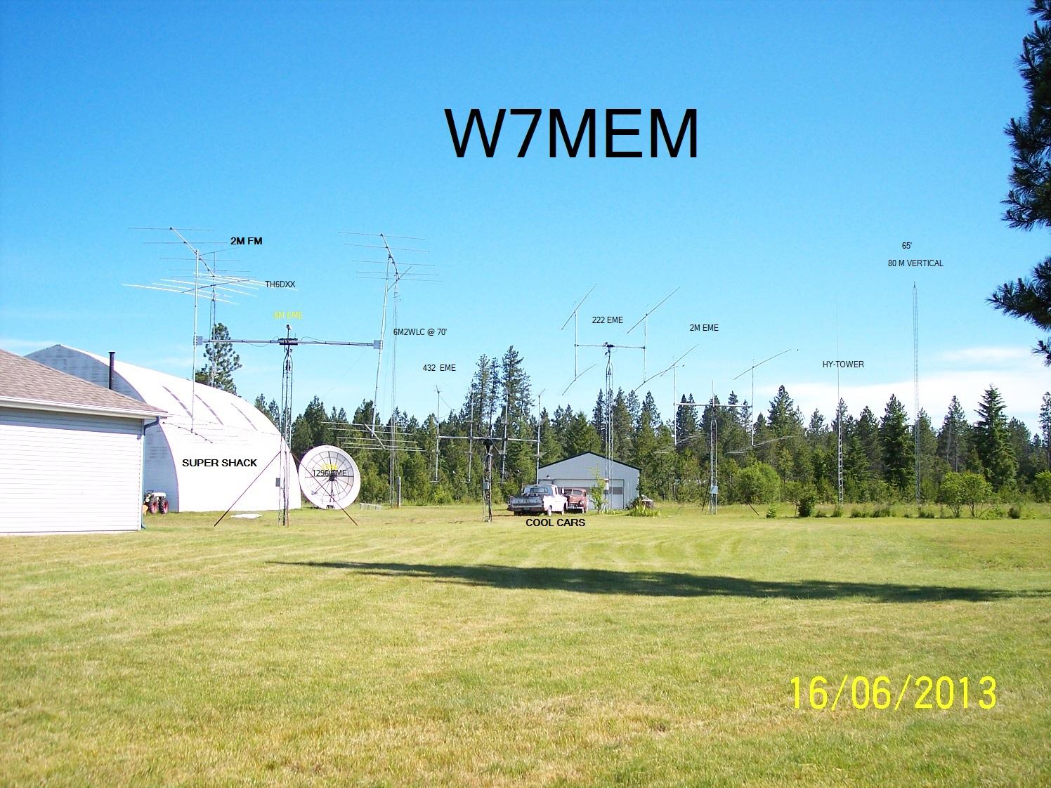QSL image for W7MEM
