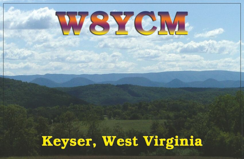 QSL image for W8YCM