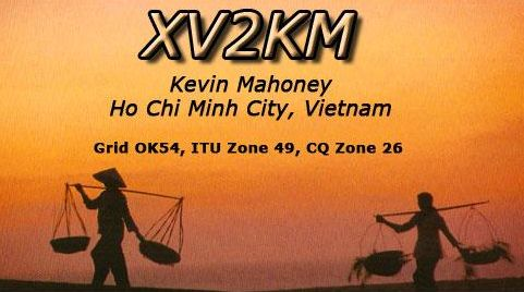 QSL image for XV2KM