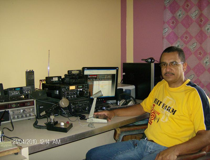 QSL image for YY5RM