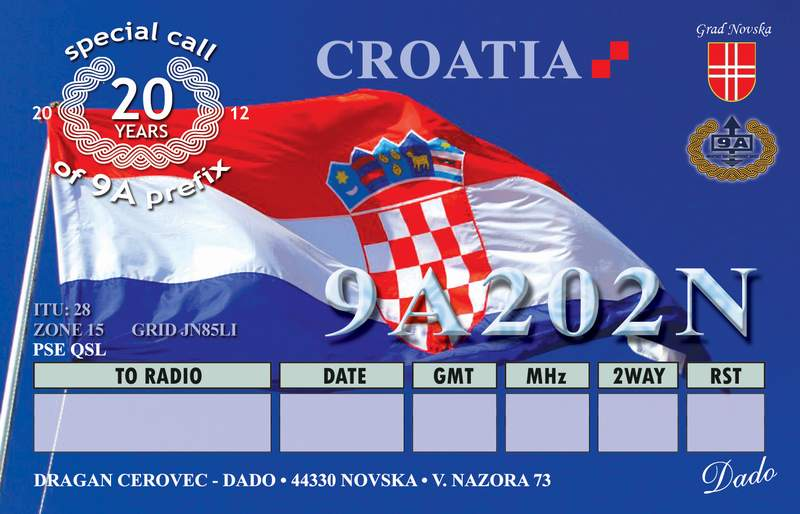 QSL image for 9A202N
