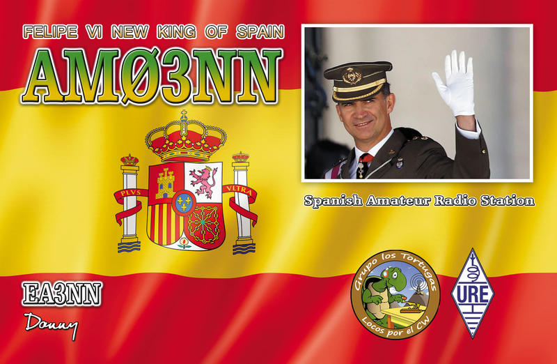 QSL image for AM03NN