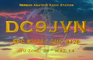 QSL image for DC9JVN
