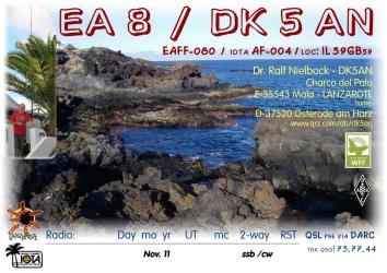 EA8/DK5AN Lanzarote2011