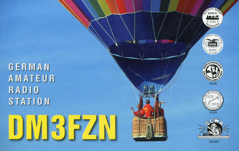 QSL image for DM3FZN