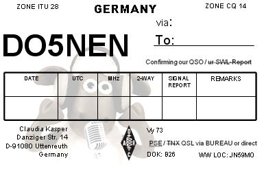 QSL image for DO5NEN