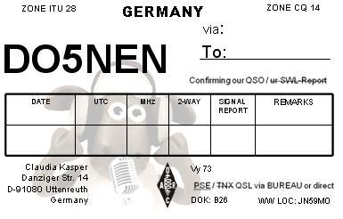 QSL image for DO5NEN