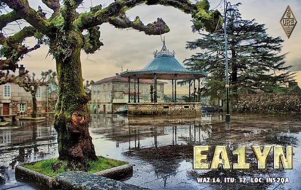 QSL image for EA1YN