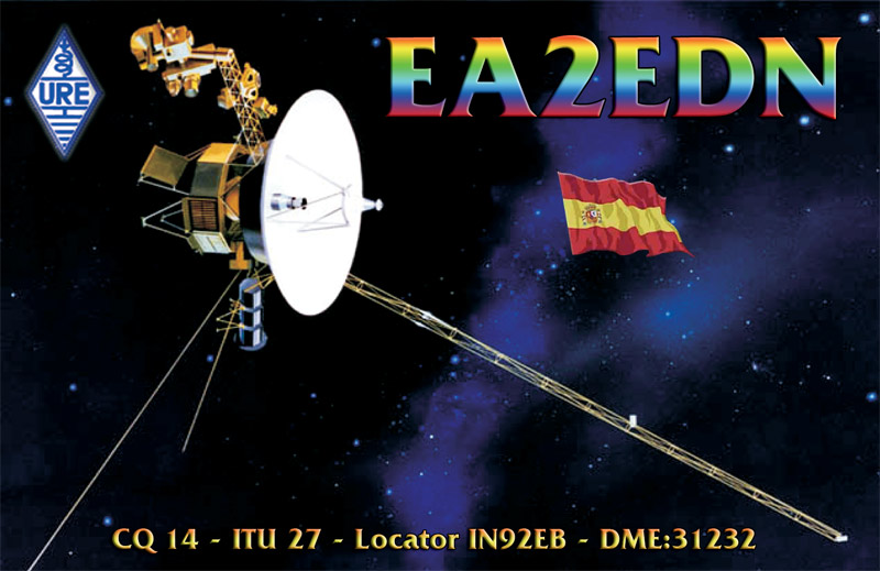 QSL image for EA2EDN