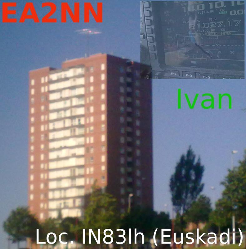 QSL image for EA2NN