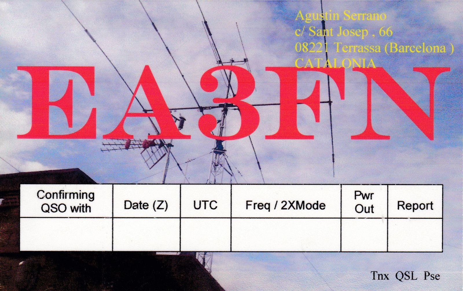 QSL image for EA3FN