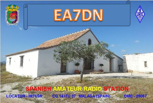 QSL image for EA7DN