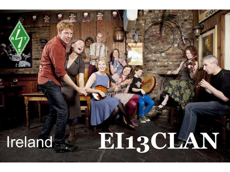 QSL image for EI13CLAN