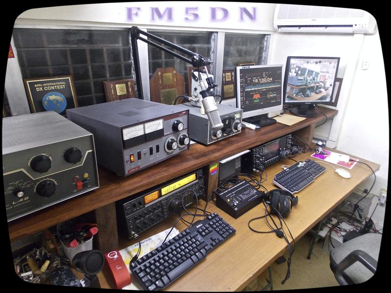 QSL image for FM5DN