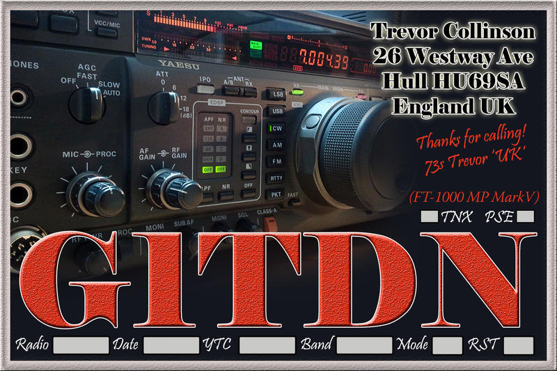 QSL image for G1TDN