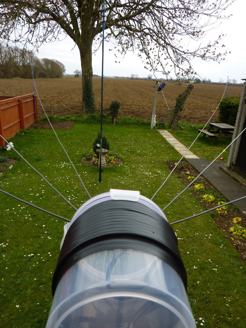 My nested dipoles for 40, 20, 15 and 10 meters