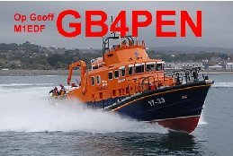 QSL image for GB4PEN