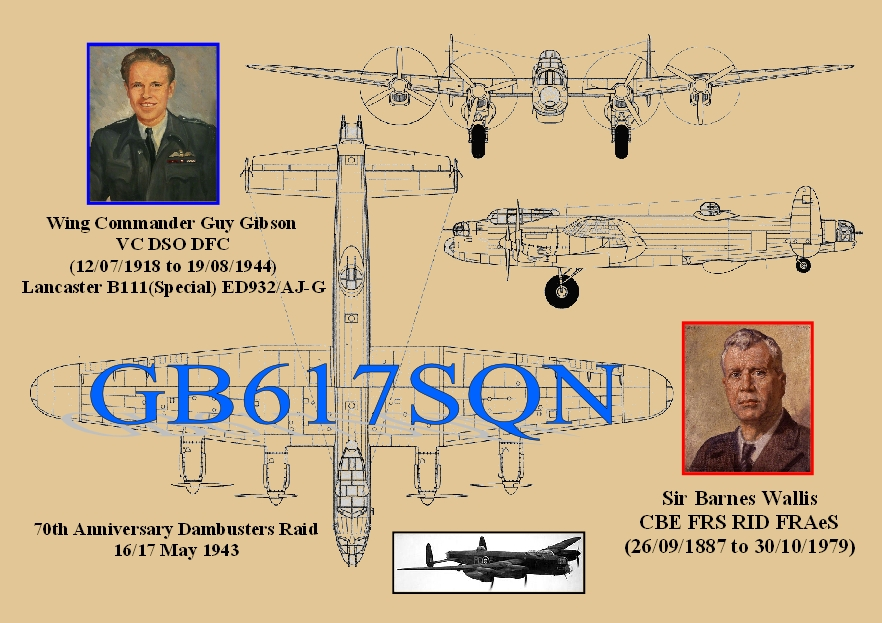 QSL image for GB617SQN