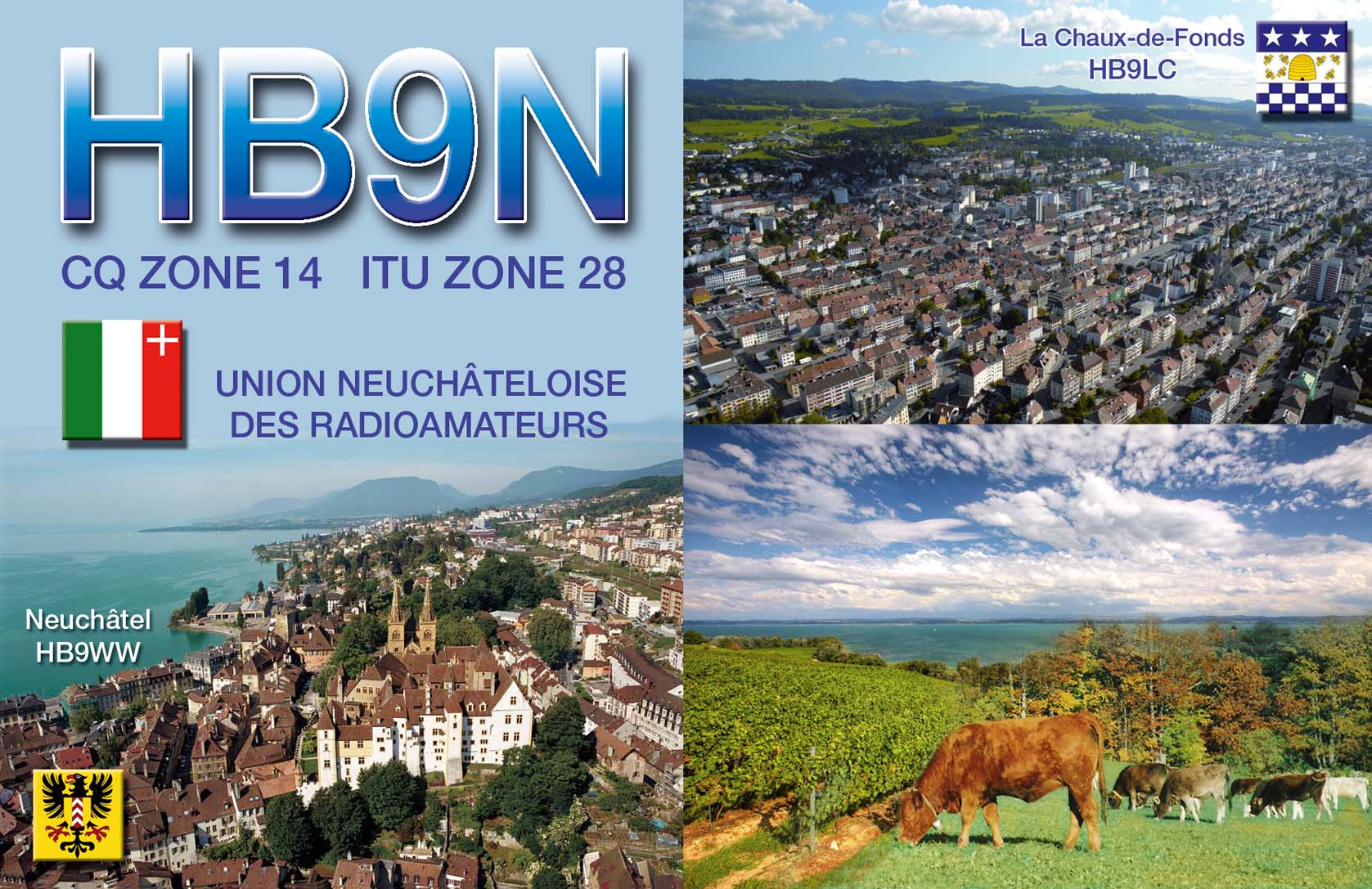 QSL image for HB9N