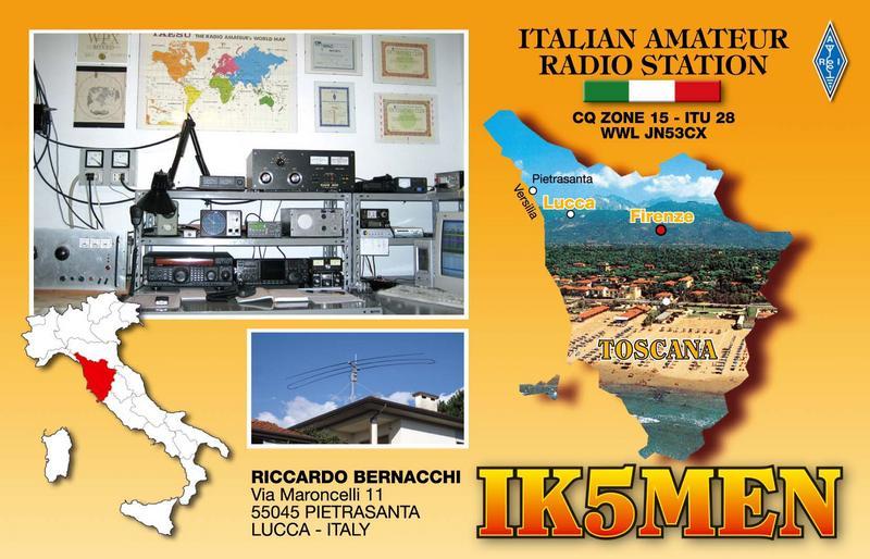 QSL image for IK5MEN