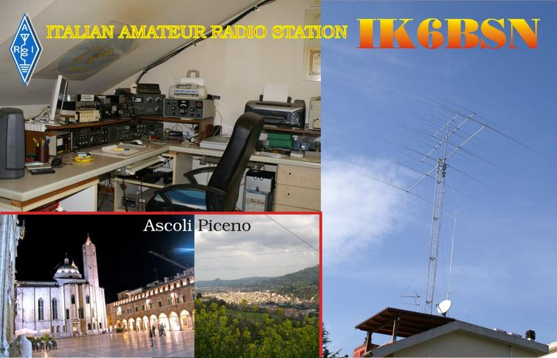 QSL image for IK6BSN