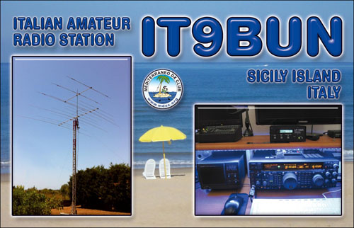 QSL image for IT9BUN