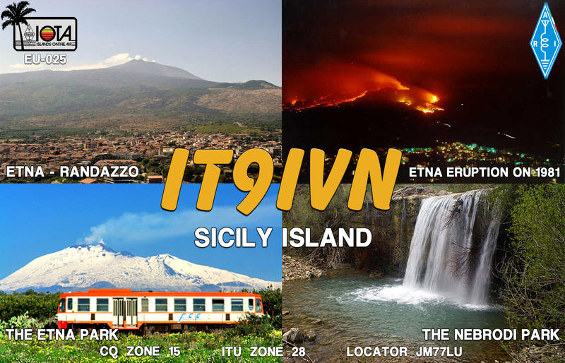 QSL image for IT9IVN