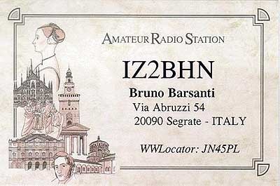 QSL image for IZ2BHN