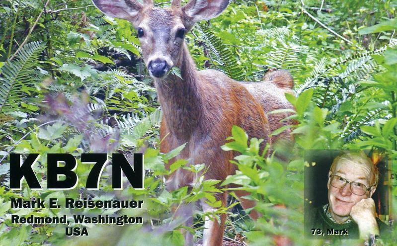QSL image for KB7N