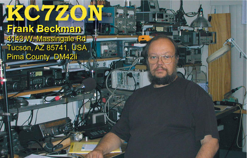 QSL image for KC7ZON