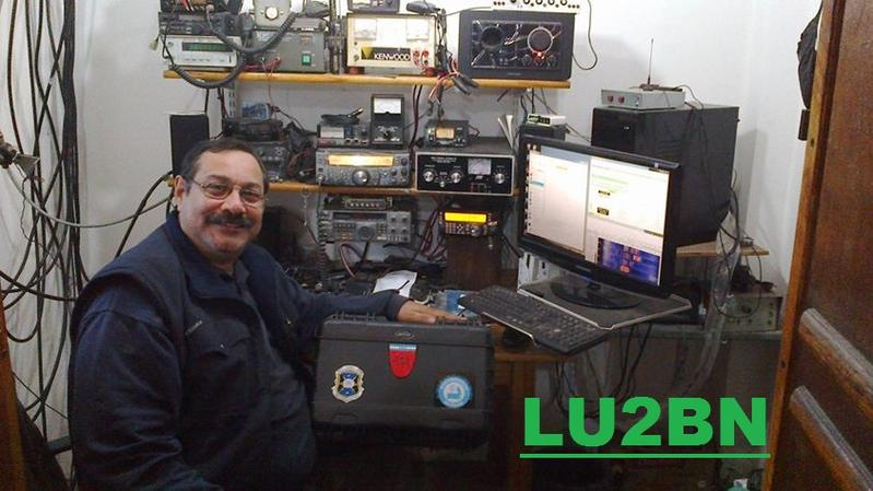 QSL image for LU2BN
