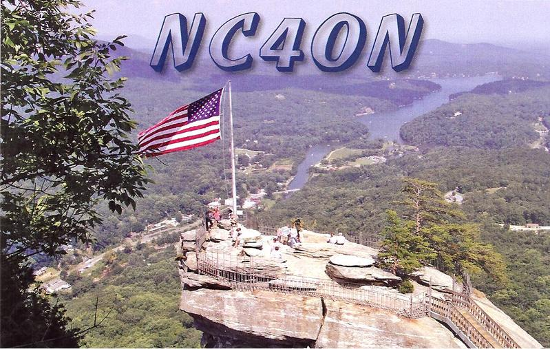 QSL image for NC4ON