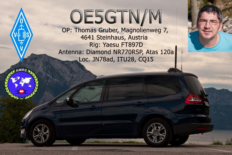 QSL image for OE5GTN