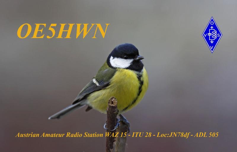 QSL image for OE5HWN