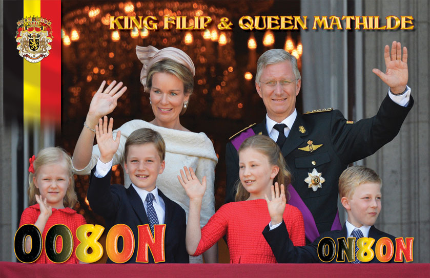QSL image for ON8ON