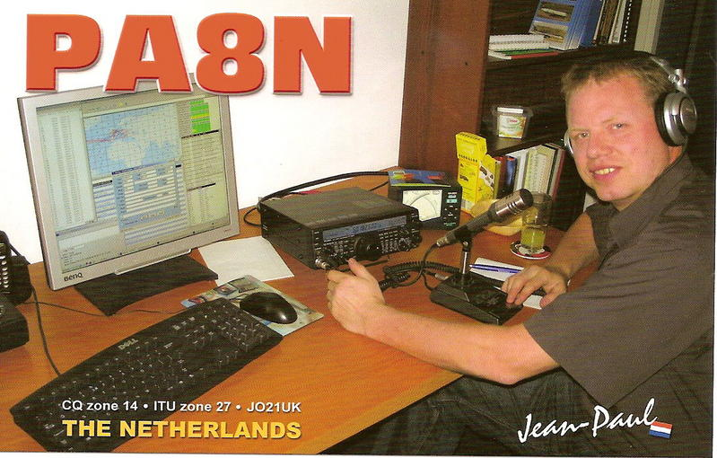 QSL image for PA8N