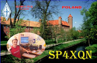 QSL image for SP4XQN