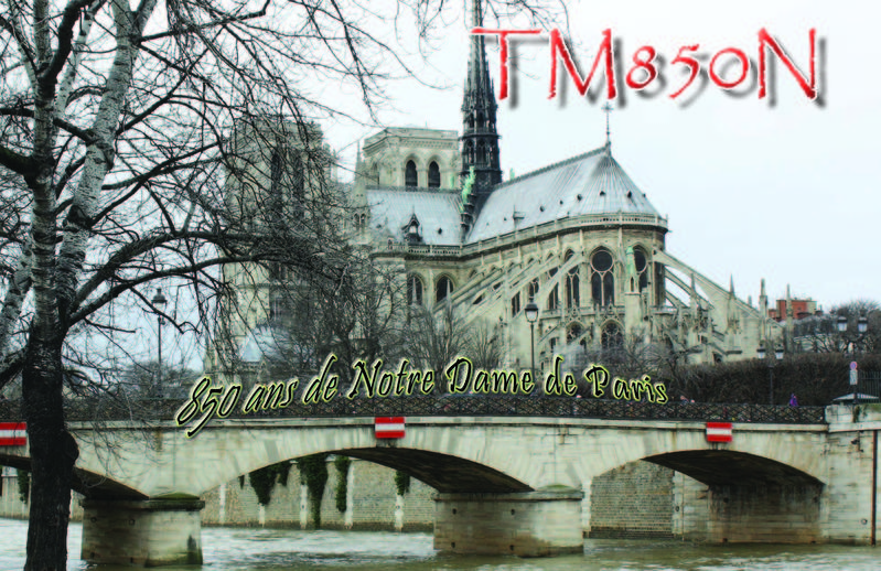 QSL image for TM850N