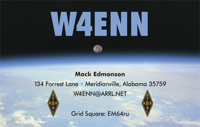QSL image for W4ENN