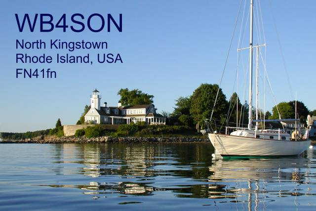 QSL image for WB4SON