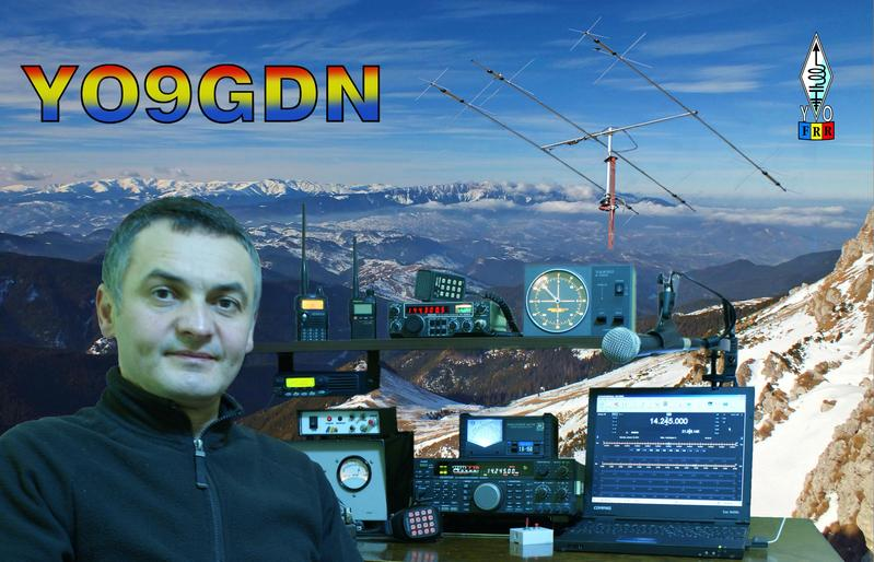 QSL image for YO9GDN