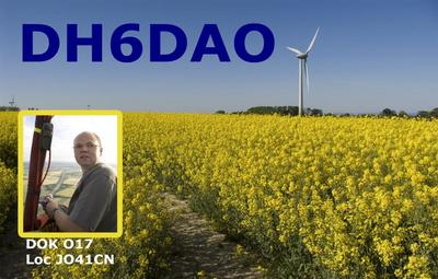 QSL image for DH6DAO