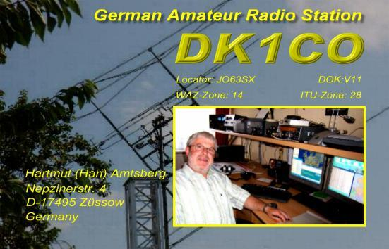 QSL image for DK1CO