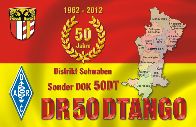QSL image for DR50DTANGO