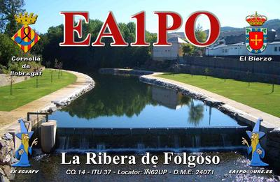 QSL image for EA1PO